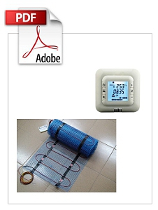 ELECTRICAL FLOOR HEATING SYSTEM - MATS