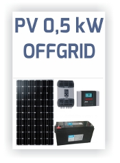 Icpe - Sistem PV Offgrid 0.5kW