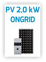 Icpe - Sistem PV Ongrid 2.0kW