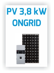 Icpe - Sistem PV Ongrid 3.8kW