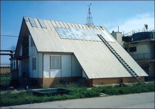 Agigea - solar energy experiments