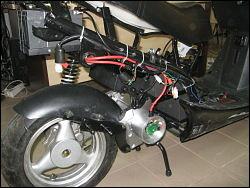 Echipare scuter electric