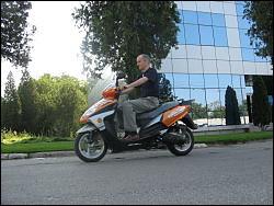 Drive-test scuter electric