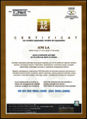 Certificat SRAC 01/4