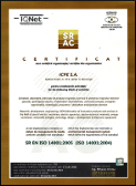Certificat SRAC 755/1