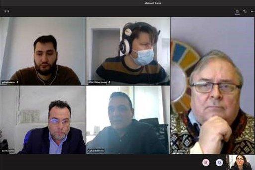 Întâlnirea online a echipei implicată in proiectului PVADIP-C
